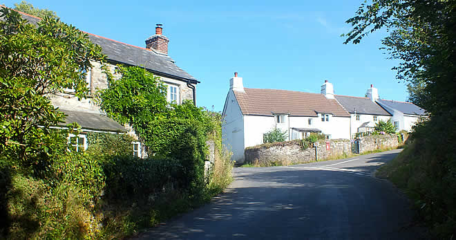 The hamlet of Ashton in the Parish of St Dominic